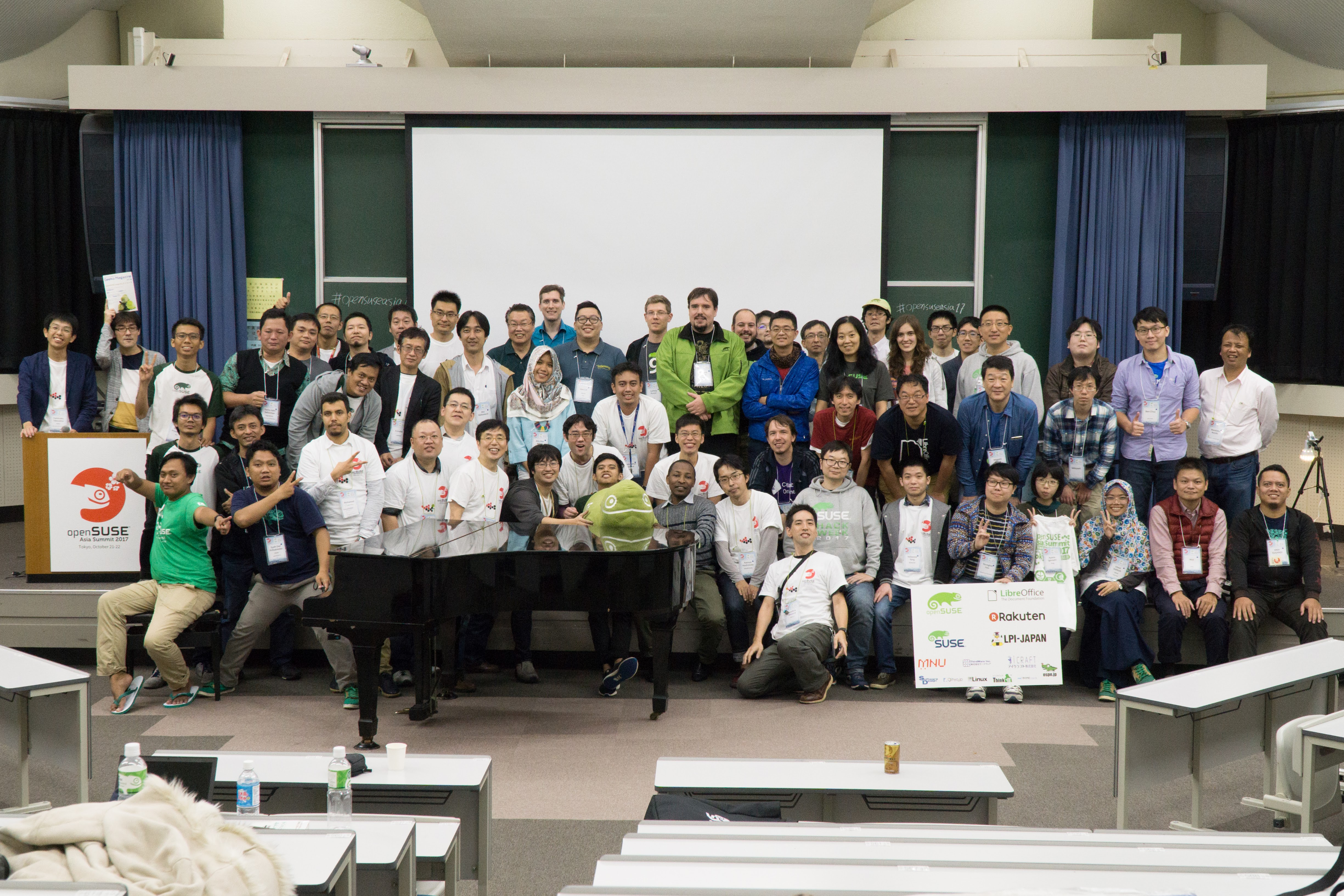 openSUSE.Asia Tokyo 2017 Attendees