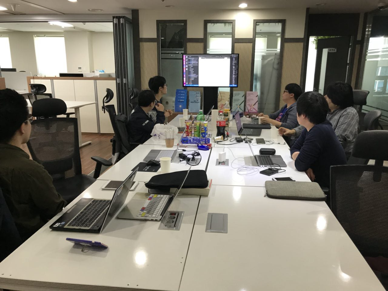 Joint meetup of Hanjp-IM Project team from Ubuntu Korea Community and Gnome Korea